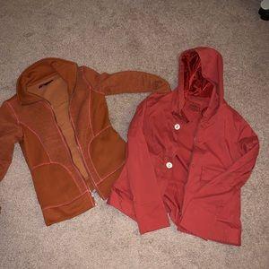 Prana jackets sz small